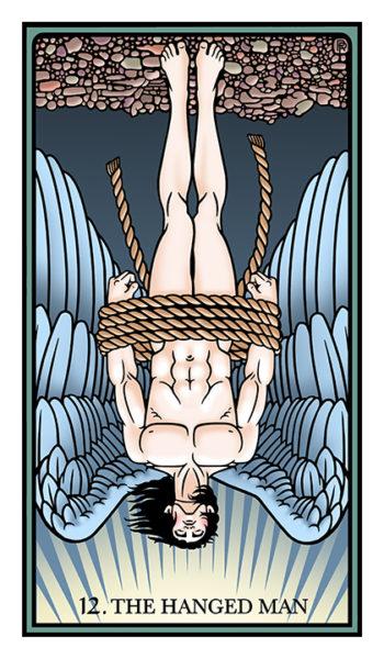 hanged man raziel