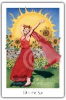 Gaian Tarot 19 the Sun